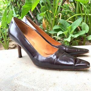 VTG GUCCI heels Women's 7 designer pumps vintage